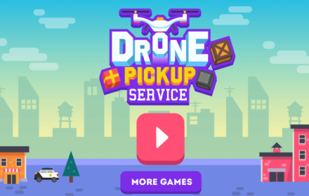 Drone Pickup Service HTML5 Game